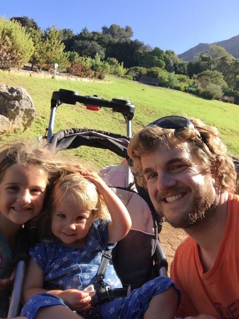 Eliza, Eve, and Me enjoying Kirstenbosch Gardens...BEAUTIFUL!